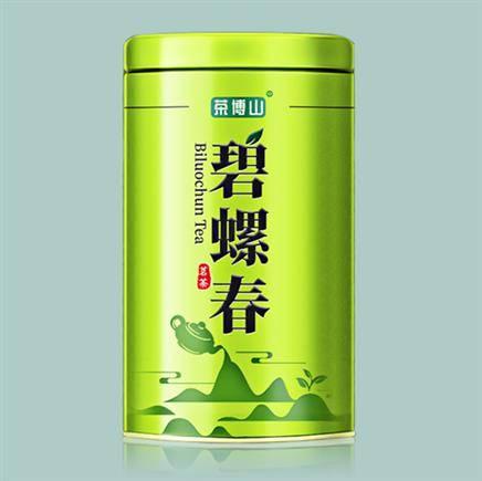 慢友专享-抵现红包:茶博山 洞庭碧螺春茶 125g/罐
