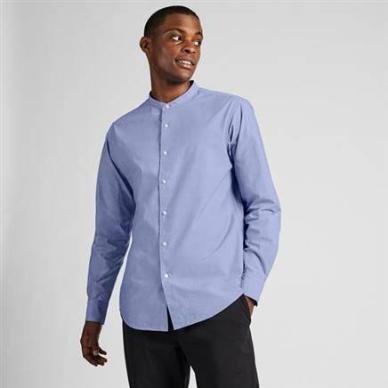 卖完下架:UNIQLO 优衣库 419020 男士立领衬衫