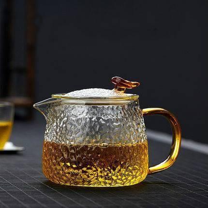 29日10点:yuewoo 悦物 锤纹玻璃功夫茶壶 400ml