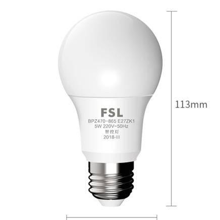 FSL 佛山照明 天猫精灵智能LED灯泡 5w E27螺口