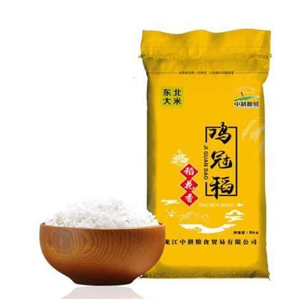 京東PLUS會員:雞冠稻 東北大米 稻花香米 5kg