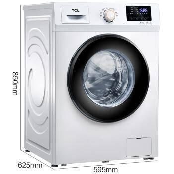 TCL 10公斤 变频全自动滚筒洗衣机 XQG100-P300B1389元
