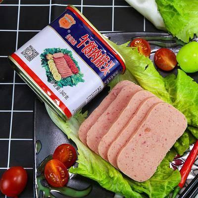 抵现红包:中粮梅林 午餐肉罐头 340g*3罐