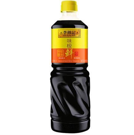 李锦记 酱油 味极鲜特级酱油 1L装 *5件 + 醇酿陈醋 1.9L *5件