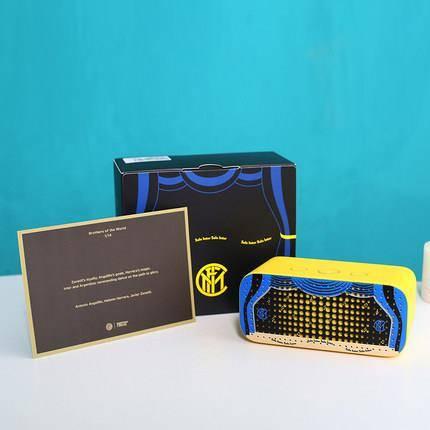 新品发售: TMALL GENIE 天猫精灵 方糖R 智能音箱 国际米兰定制款99元包邮