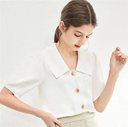 对白 ADC033 女士法式衬衫 低至71.2元/件