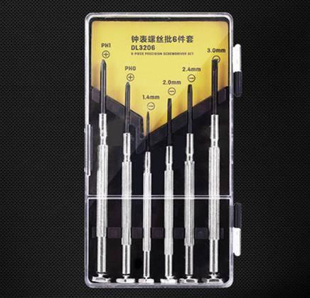 得力 DL3206 小螺丝刀 6件套