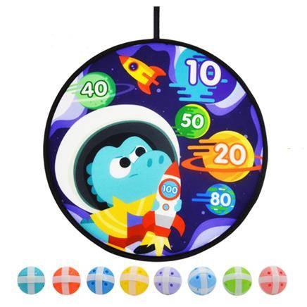 抵现红包:henes 宇宙火箭粘粘球投掷玩具 赠6球
