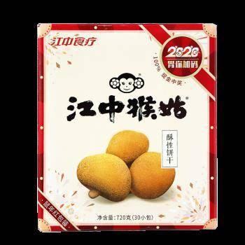 江中 酥性饼干 720g 59元