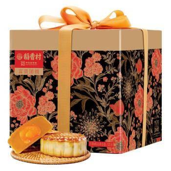 稻香村 月饼礼盒 富贵团圆 525g