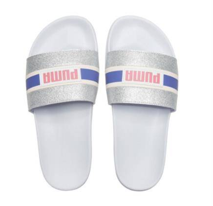 12日0点: PUMA 彪马 LEADCAT FTR 90S POP 372624 女子亮片拖鞋 64.5元