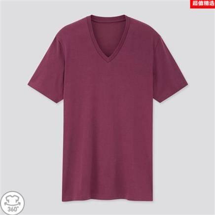 优衣库 427916 男装/女装 快干V领T恤
