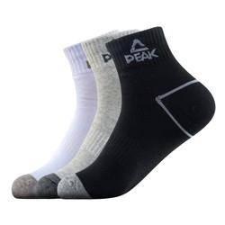 25日0点: PEAK 匹克 运动男袜 3双装