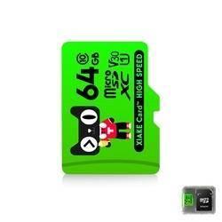 XiaKE 夏科 MicroSD内存卡 Class10 64G 送收纳盒+SD卡套