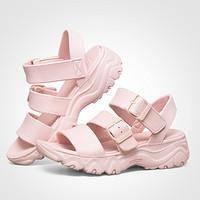 12日0点: SKECHERS 斯凯奇 111061 女士厚底露趾凉鞋 *2件 308元(合154元/件)