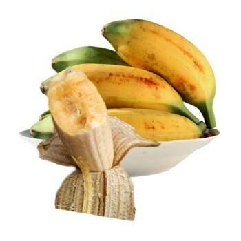 移动端:�红蔬青 广西新鲜小米蕉 带箱10斤13.8元包邮(需用券)