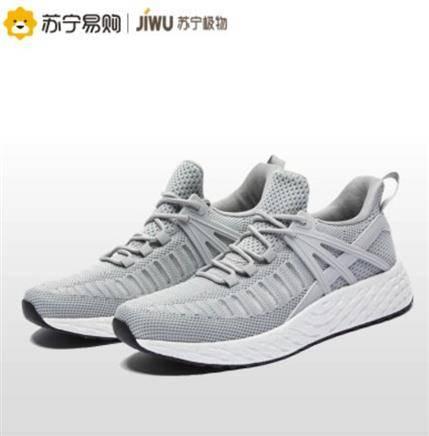 移动端: JIWU 苏宁极物 JWCX002 男士爆米花运动鞋91元
