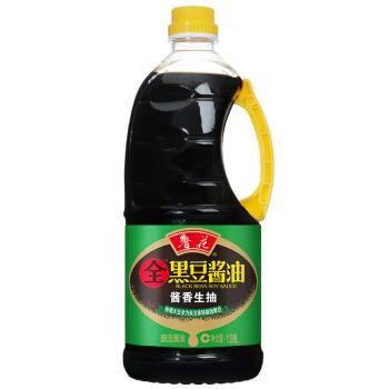 鲁花 全黑豆酱香生抽酱油 1.98L*5件