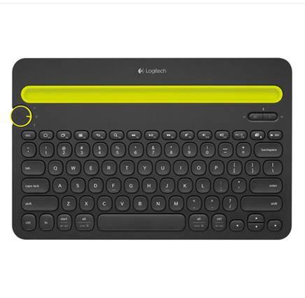 11日0点、双11预告:Logitech 罗技 K480 多设备蓝牙键盘 平板电脑键盘99元包邮(用券后)
