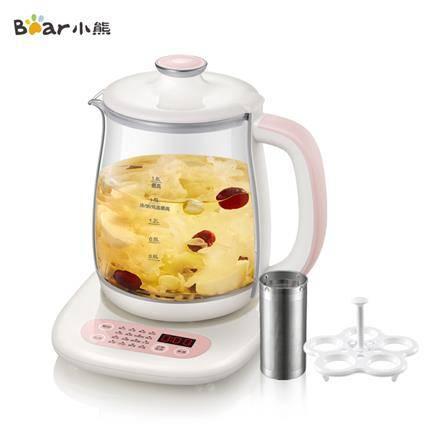 小熊(Bear)养生壶 YSH-B18A6 1.8L大容量微电脑可预约定时保温多功能家用办公室煮茶壶电煮茶器官方自营89元