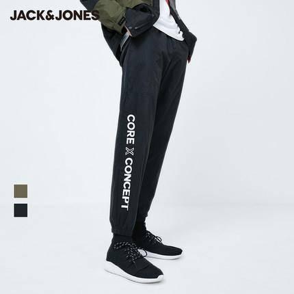 JackJones 杰克琼斯 219314570 男士收脚休闲裤