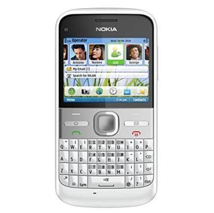满满复古感 诺基亚 Nokia E5 全键盘手机    1119.7元(预订中,未含税费)