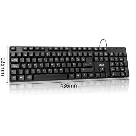 闭眼买:Acer 宏� K212 USB有线单键盘 436*125mm    9.9元包邮(多重优惠后,限量650份)