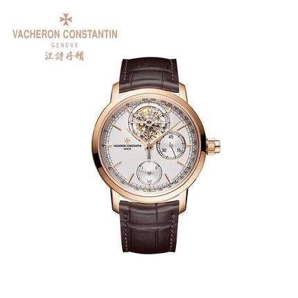 江诗丹顿 Vacheron Constantin 传袭系列 陀飞轮计时男士腕表