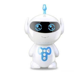拥抱熊 爆款智能小谷机器人 胡巴儿童早教故事机陪伴AI对话玩具礼品学习机 超级胡巴蓝49.9元(需用券)