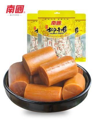 南国 海南三亚特产零食 糖果传统椰子糖200gX3东郊椰林19.9元(需用券)