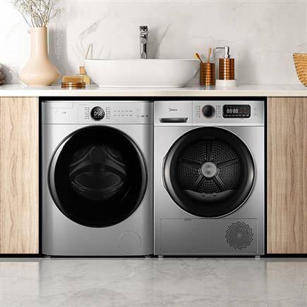 9日0点、新品发售:Midea 美的 MG100V70WD5-Y1Y +MH100VTH707WY 洗烘套装 10kg