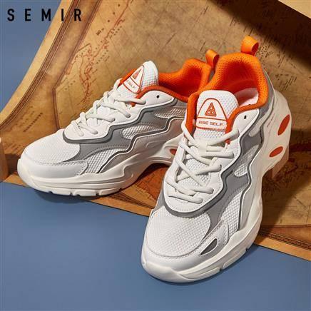 闭眼买:Semir 森马 16010400003 男女款老爹鞋82.99元包邮(慢津贴后73.99元)