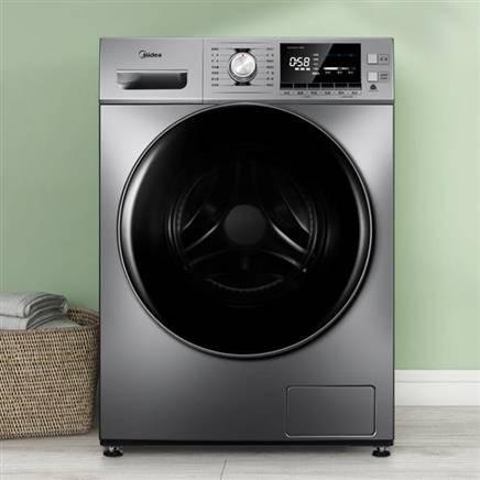 美的 滚筒洗衣机全自动 10KG 1631.05元