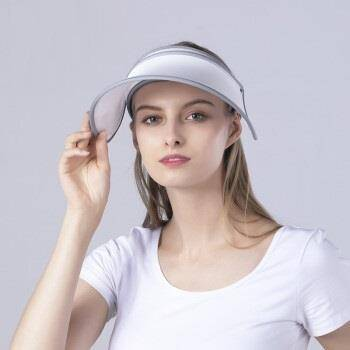 Auberge/艾比 遮阳帽362M白色 59.9元(需用券)(慢津贴后56.31元)