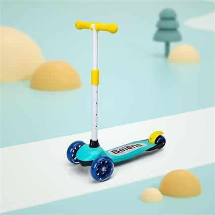 贝恩施 儿童滑板车 滑行车89元(慢津贴后84.5元)