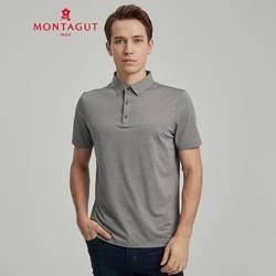 MONTAGUT 梦特娇 1KT221221E 男士Polo衫 99元包邮(需用券)