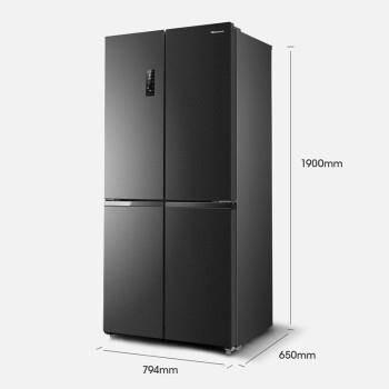 5日0点:Hisense 海信 食神系列 BCD-450WMK1DPUJ 风冷十字对开门冰箱 450L