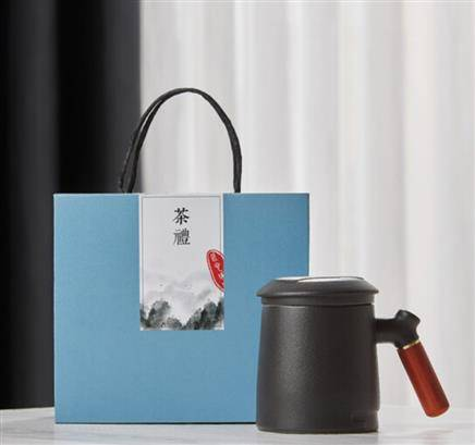 每束  茶水分离马克杯  精美礼盒装106元包邮
