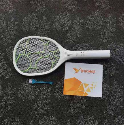 验货:雅格 充电式电蚊拍 验货不止于验