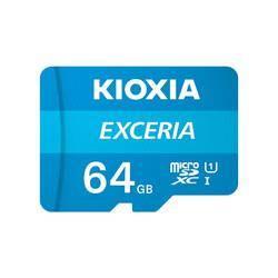 16日0点:KIOXIA 铠侠 EXCERIA 极致瞬速 TF存储卡 64GB