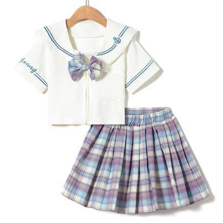 ENEESSI  儿童JK制服套装  110-160CM