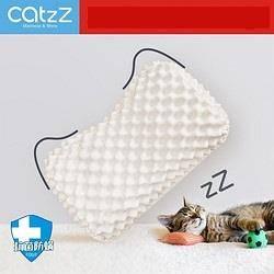 CatzZ 瞌睡猫 泰国进口93%乳胶狼牙枕 57*35*9/11cm