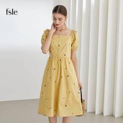 范思蓝恩 法式复古连衣裙  211253    99元包邮(慢津贴后97.52元)