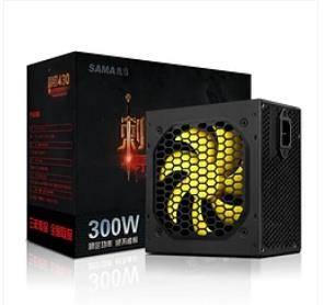 SAMA 先马 刺客430额定300W电脑电源台式机电源宽幅静音ATX游戏主机电源    84元包邮(需用券)