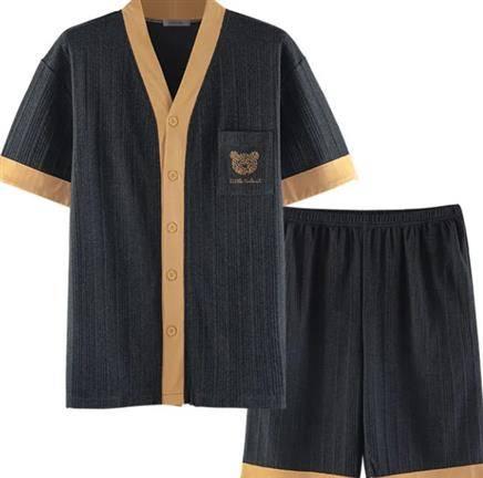 La Chapelle 拉夏贝尔 男士家居服套装    35.95元包邮