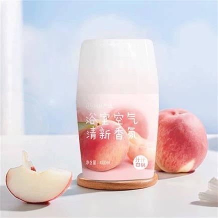 网易严选 浴室空气清新剂 汁汁白桃 400ml 14.9元