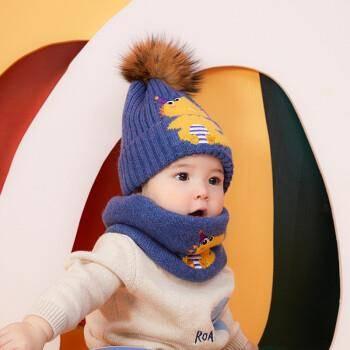 kocotree kk树 儿童卡通针织帽子 均码 28元包邮(需用券)(补贴后25.48元)