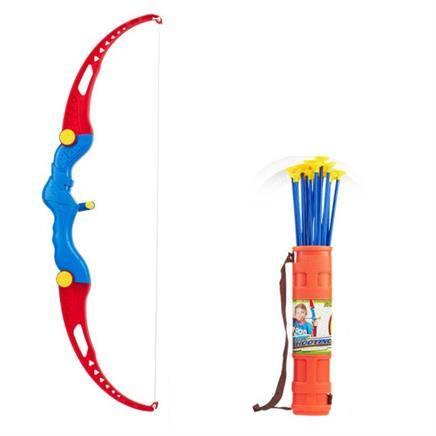 米德卡 儿童射箭玩具套装 大号 65CM弓+3箭+箭筒+标靶 32.9元包邮(需用券)