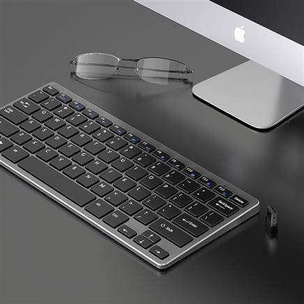 雷宝龙 k205 可充电无线键盘44.9元包邮(需用券)(补贴后43.1元)